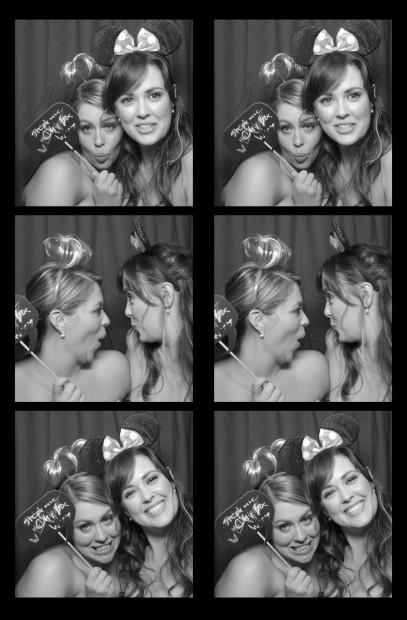 vintage photo booth rental. sisters in wedding in Rhode island, or Connecticut