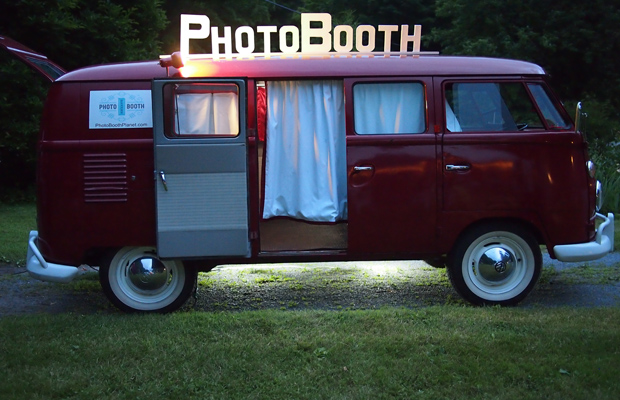 Meet Ruby, Photobooth Bus Loved by Brides all over New England is now coming to NH
