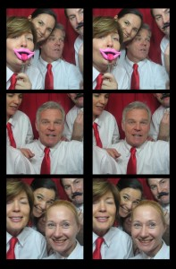 Crew in the photo booth!