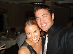 Shannon and I at wedding in New Hampshire, that sadly didn't have a photobooth