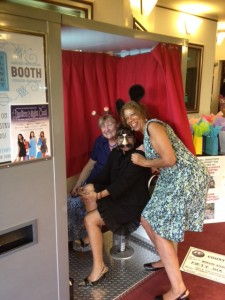 Staff of the WIRC hanging in our photo booth at the Bergen PAC in Englewood, NJ