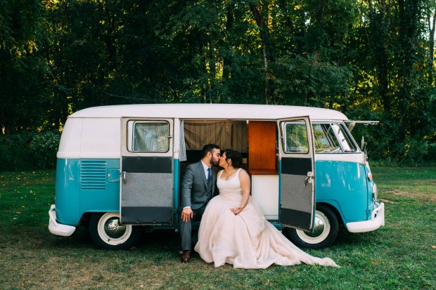 Thank you to Jessica Oh Photography for capturing this beautiful shot of our VW Bus at a beautiful fall wedding in NJ
