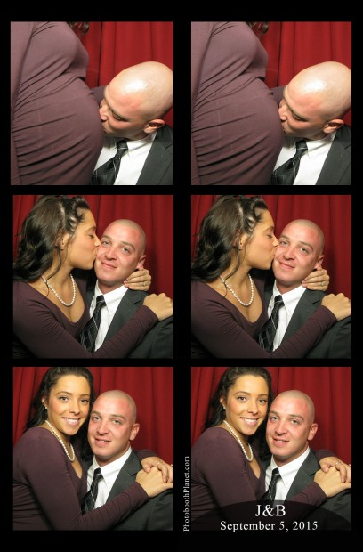Photo booth rental Mystic, CT wedding