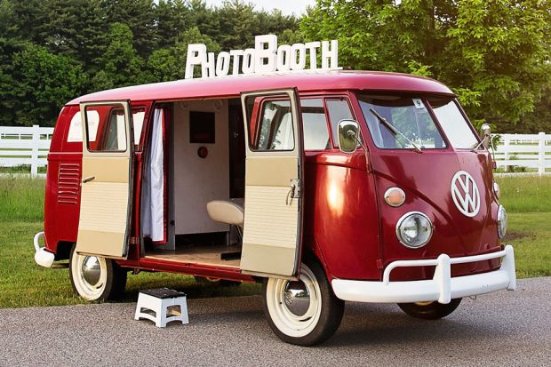 Ruby, VW PhotoBus - Photobooth Rentals from Photobooth Planet