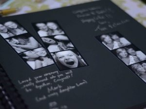 wedding photo guestbook example