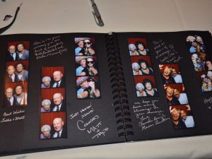sample wedding photo guestbook